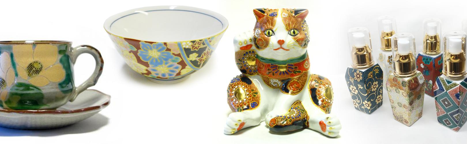 九谷焼の商品一例
