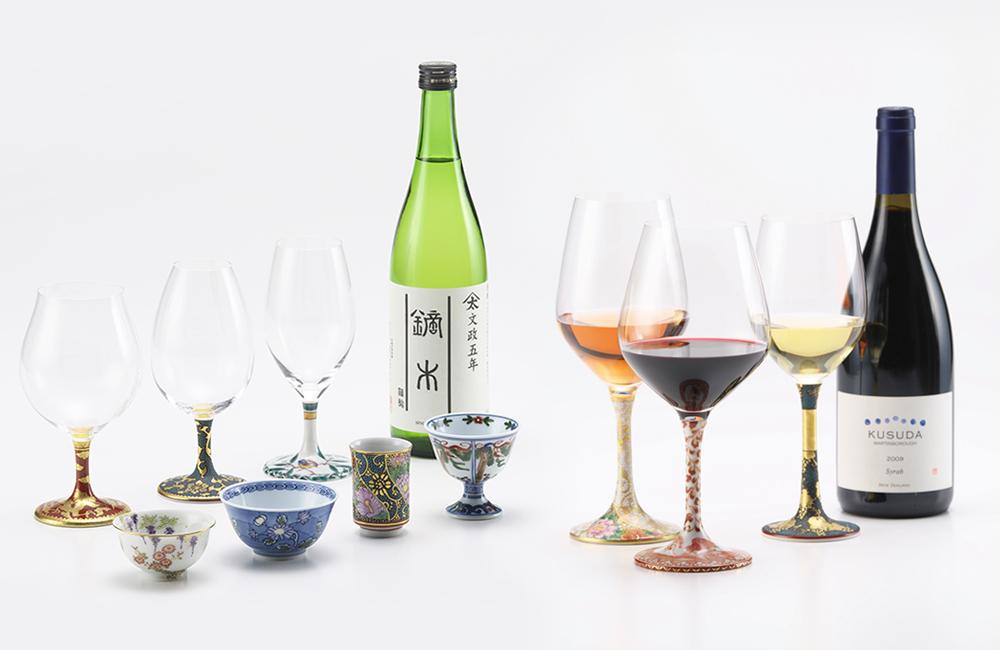 鏑木ワイングラス&酒盃